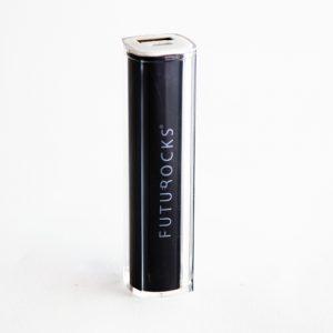 Futurocks Mini Power Bank 2600 mAh Black