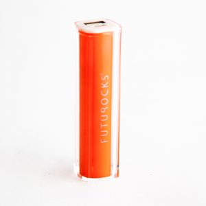 Futurocks Mini Power Bank 2600 mAh Orange