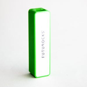 Futurocks Power Bank 2600 mAh Green