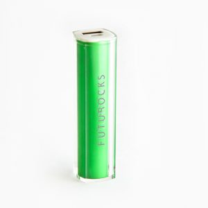 Futurocks Mini Power Bank 2600 mAh Green