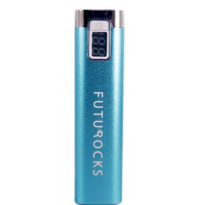 Futurocks LCD Power Bank 2600 mAh – Blue