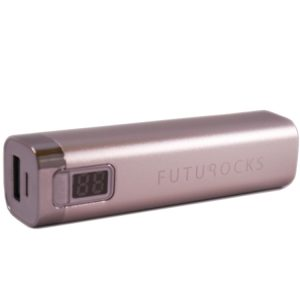 Futurocks LCD Power Bank 2600 mAh – Silver