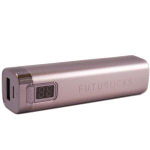 Futurocks LCD Power Bank 2600 mAh – Silver