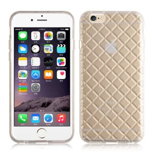 Futurocks Quilted Glitter Glacier Case Cover for iPhone 6  – white
