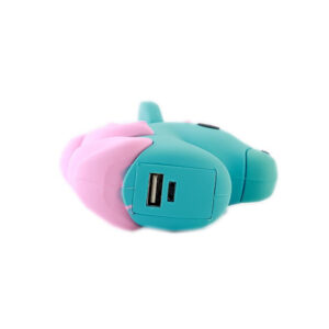 Emoji Blue Unicorn Portable Charger Power Bank 2600 mAh