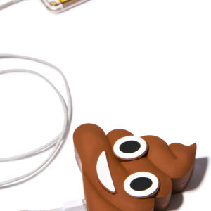 Emoji Poop Portable Charger Power Bank 2600 mAh