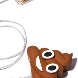 Emoji Poop Portable Charger Power Bank 2600 mAh
