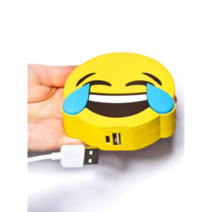 Emoji Laughing Tears Portable Charger Power Bank 2600 mAh
