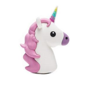 Emoji Unicorn Portable Charger Power Bank 2600 mAh