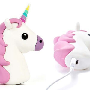Emoji Unicorn Portable Charger Power Bank 2600 mAh