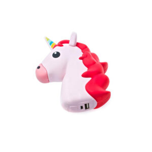 Emoji Pink Unicorn Portable Charger Power Bank 2600 mAh
