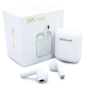 i9 5.0 TWS Bluetooth Wireless Earphones – White
