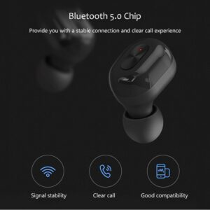 N9 5.0 TWS Bluetooth Wireless Earphones – Black