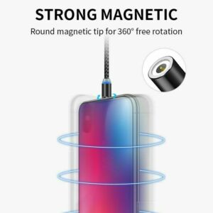 Magnetic Fast Charging USB Cable for iPhone iPad Samsung Huawei